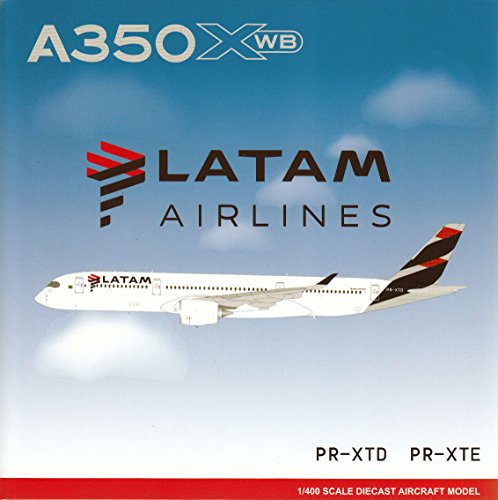 Jcw40017 1 400 Jc Wings Latam Airlines Airbus A350 900 Reg  Pr Xtd  Pre Painted Pre Built