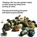 ActiveBliss Zen Garden for Desk with 3 Essential