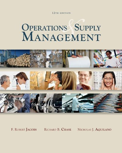 Operations & Supply Management wStudent DVD Rom (McGraw-Hill/Irwin Series Operations and Decision Sciences)