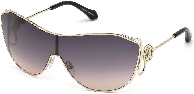2cc8e76661b9fd Sunglasses Roberto Cavalli RC 1061 Garfagnana 32B gold   gradient smoke at  Amazon Men s Clothing store