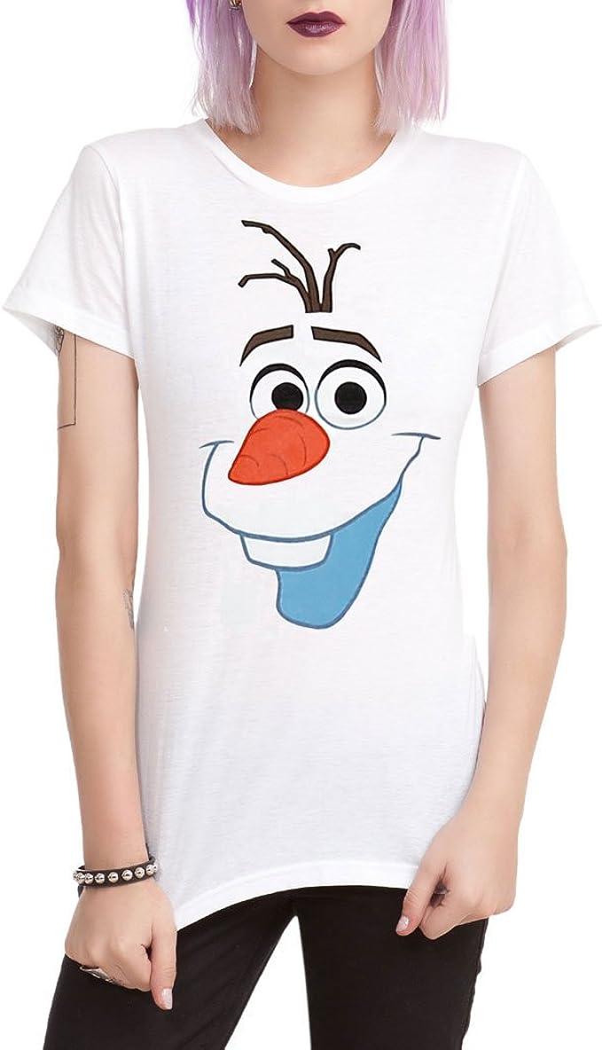 Frozen Olaf Face Women/'s T-Shirt