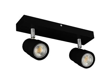 Led Deckenlampe Ledwa30x7 4000k Schwarz Aus Holz Hausleuchten 10