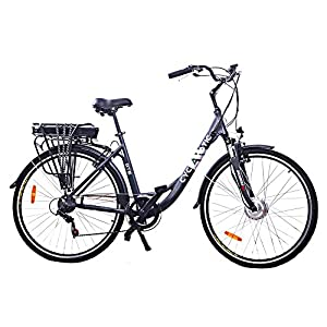 cyclamatic gte pro step through electric bike with lithium. Black Bedroom Furniture Sets. Home Design Ideas