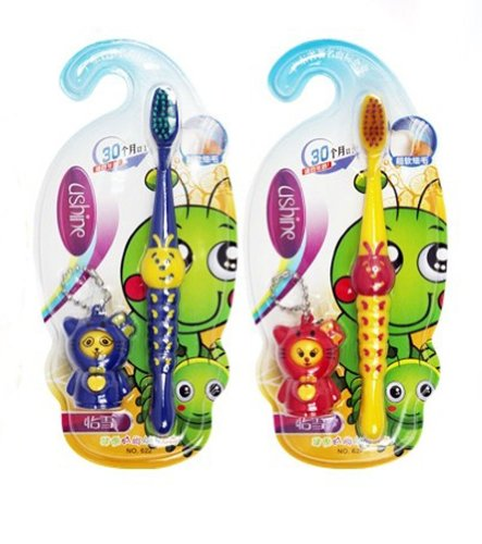 caterpillar-animal-toothbrushes-for-kids-twin-pack-with-fun-toy-random-color