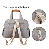 Baby Diaper Bag, Large Stylish Tote Convertible