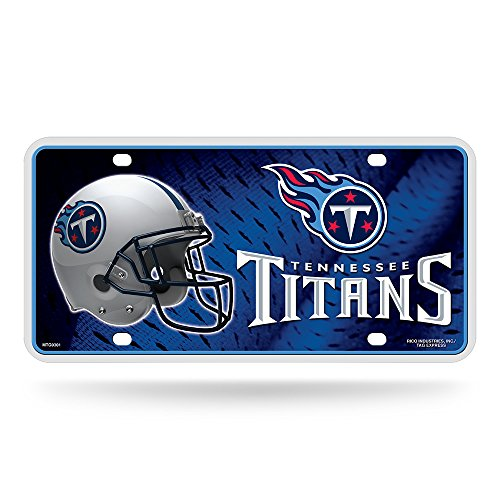 (NFL Tennessee Titans Metal License Plate Tag)
