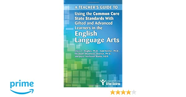 Amazon A Teachers Guide To Using The Common Core State