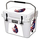 MightySkins Skin for YETI 20 qt Cooler - Future is Bright | Protective, Durable, and Unique Vinyl Decal wrap Cover | Easy to Apply, Remove, and Change Styles | Made in The USA