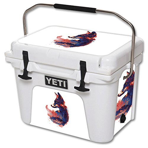 MightySkins Skin for YETI 20 qt Cooler - Future is Bright | Protective, Durable, and Unique Vinyl Decal wrap Cover | Easy to Apply, Remove, and Change Styles | Made in The USA by MightySkins