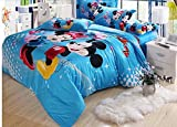 Disney Mini and Mickey in love beding set duvet cover King/Queen Size (with our without comforter) (Queen, With comforter)