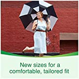 Health & Personal Care : Depend FIT-FLEX Incontinence Underwear for Women, Maximum Absorbency, XL, Tan (Packaging may vary)