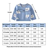pureborn Baby Boys Girls O-Neck Toddler Sweaters