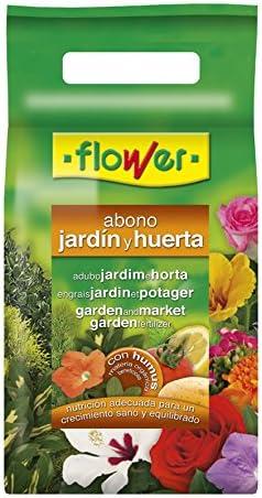 Flower 10850 10850-Abono Huerta y jardín, 2 kg, No Aplica, 21x7x42.5 cm: Amazon.es: Jardín
