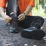 GRITION Chaussures de Randonnée Homme imperméables Chaussures de Trail,Bottes de Marche Moto Homme d'hiver de randonnée… 12