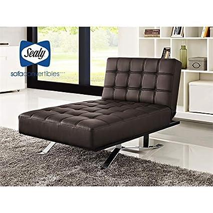 Amazon.com: Sealy Sofa Convertibles Carmen Chaise ...