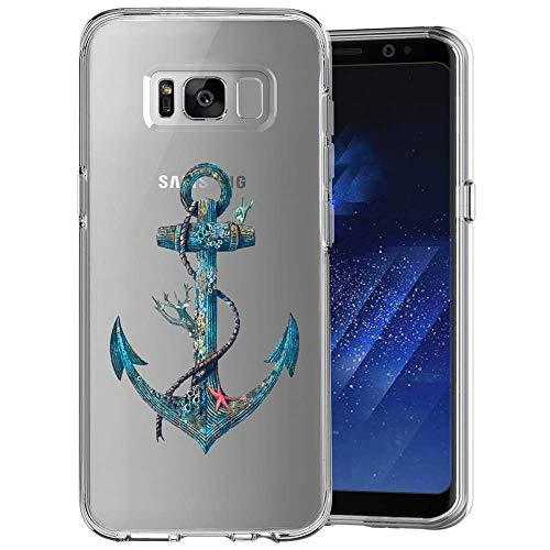 Penard Funda para Samsung Galaxy S8, Series Transparente Resistente a los arañazos, absorción de Golpes, Cubierta...