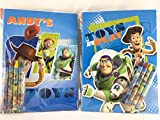Party Favors Toy Story Coloring Book & Crayon Set
