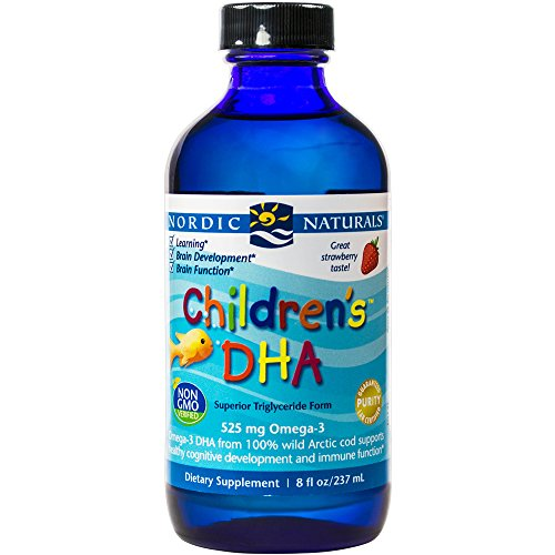 Nordic Naturals - Children s DHA, Healthy Cognitive Development and Immune Function, 8 Ounces