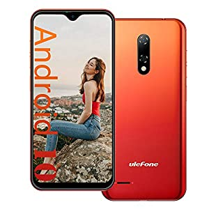 Ulefone Note 8 (2021) 3G Unlocked Cell Phone, Android 10 Quad-core 2GB+16GB Expansion 128GB, 5.5 Inch Waterdrop Screen…
