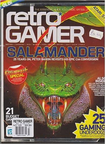 Retro Gamer Magazine Number 123: Amazon com: Books