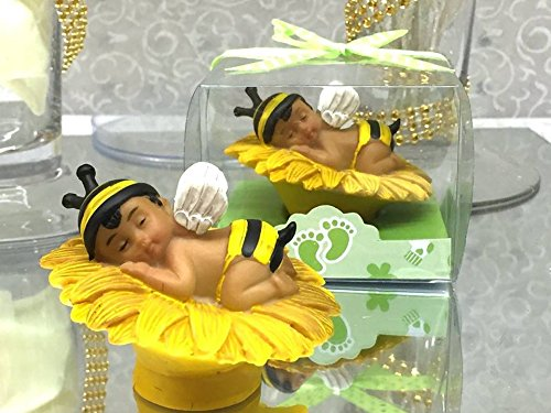 Amazon Ethnic Baby Shower Boy Bumble Bee Favor Or Cake Topper Centerpiece Everything Else