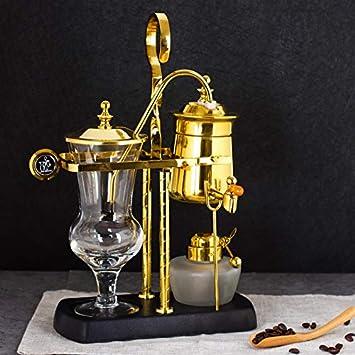 KFJZGZZ Cafetera Belga Real Máquina de café Manual por Goteo del ...