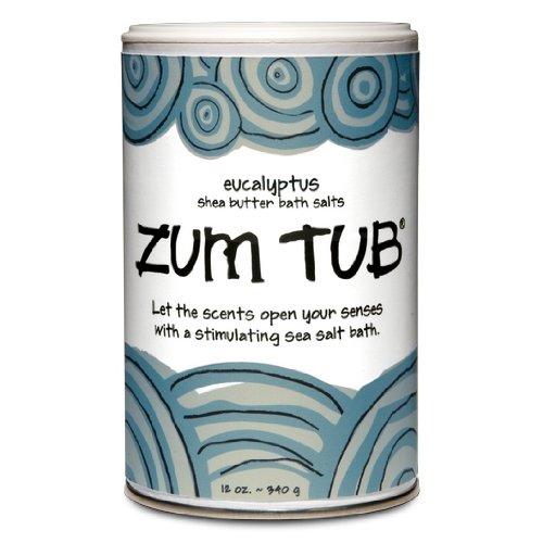 Indigo Wild Zum Tub Bath Salts, Eucalyptus, 12 Ounce