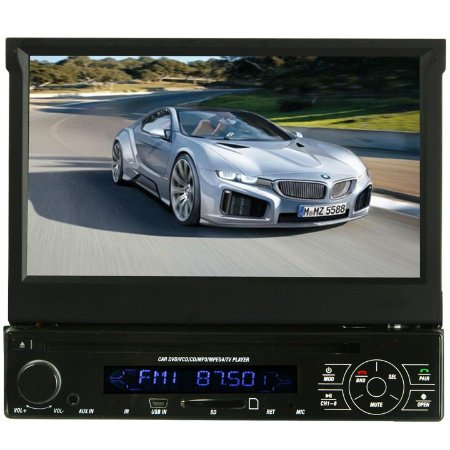 harga Absolute AVH4000 In-Dash 7-Inch Touchscreen TFT-LCD Monitor with DVD, MP3, CD Player, Front Panel USB and AUX Input Hargadunia.com