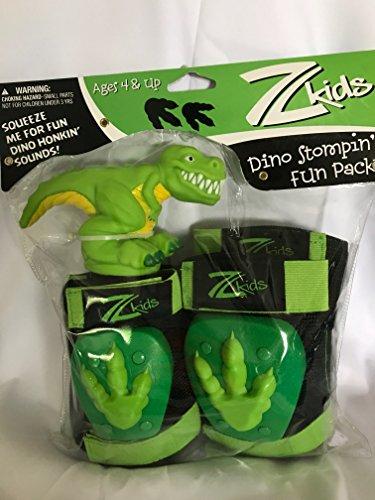 (Zefal Boys Z-Kids Fun Pack Dino Protective Gear,)