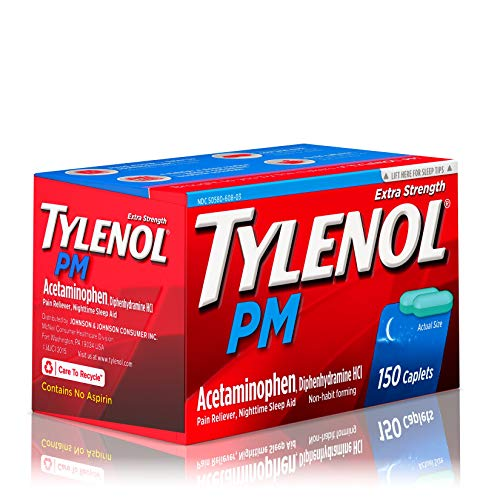 Tylenol PM Extra Strength Pain Reliever & Sleep Aid Caplets