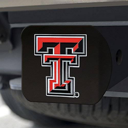 FANMATS NCAA Texas Tech Red Raiders Texas Tech Universitycolor Hitch - Black, Team Color, One Size