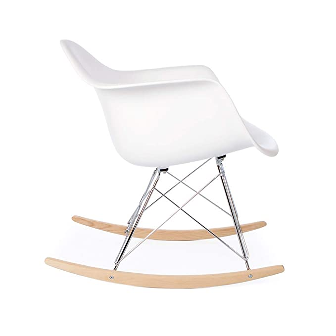 Prime Amazon Com Eames Replica Rar Mid Century Modern Rocking Arm Gmtry Best Dining Table And Chair Ideas Images Gmtryco
