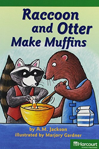 Storytown: Advanced Reader 5-Pack Grade 1 Raccoon and Otter Make Muffins