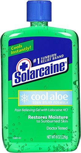 Solarcaine Aloe Extra Gel, 3 Count by Solarcaine