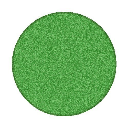 Learning Carpets CPR466 - Solid Green Round by Learning Carpets - DropShip