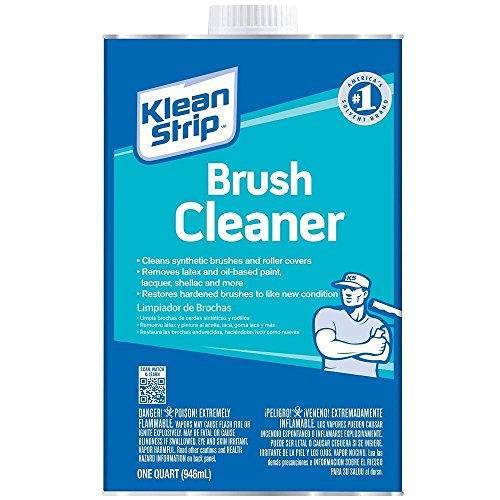 Klean-Strip QBC12 Brush Cleaner, 1-Quart (Cleaner Paint Brush)