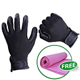 LOVES4PETS Pet Grooming Glove Cats, Dog, Pet Deshedding...