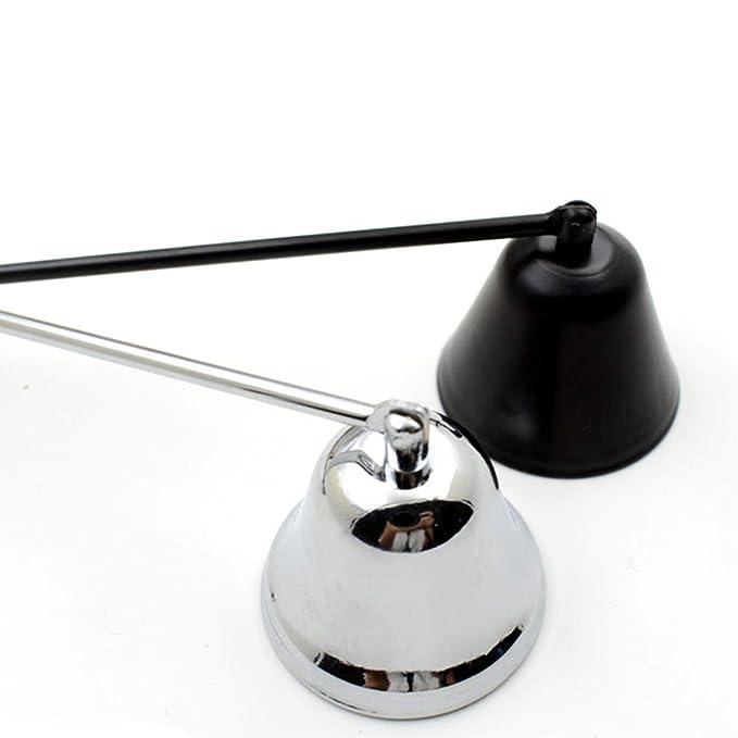Edelstahl Sicher Auslöschen Kerzenlöscher Heim Glocke Form Dekoration