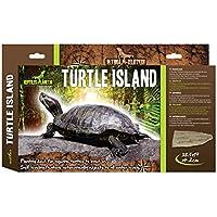 Reptiles Planet Tortuga Isla para Tortugas acuáticas, Grande