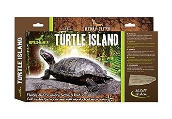 Reptiles Planet Tortuga Isla para Tortugas acuáticas, Grande: Amazon.es: Productos para mascotas