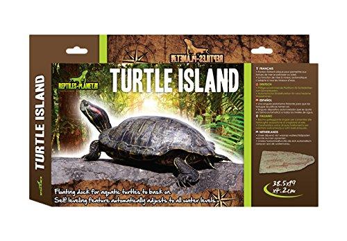 REPTILES PLANET île flottante pour tortue aquatique Turtle Island L REPU5