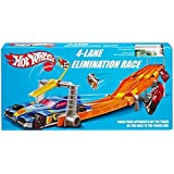 Hot Wheels Retro 4-Lane Elimination Race Trackset