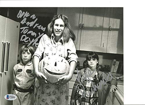 Kyle Richards & Brian Andrews Signed 8x10 Photo Halloween -