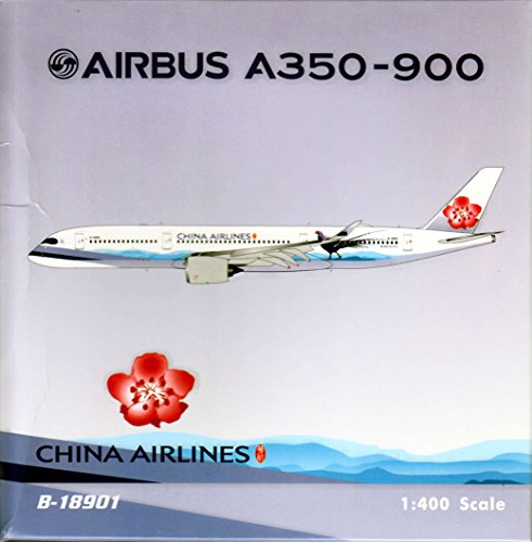 PHX1584 1:400 Phoenix Model China Airlines Airbus A350-900 REG #B-18901 - Phoenix China Airlines