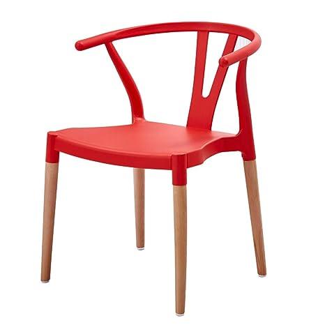Amazon.com: Sillas de comedor silla de asientos moderno ocio ...