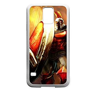 Pantheon-003 League of Legends LoL For Case HTC One M8 Cover - Hard White