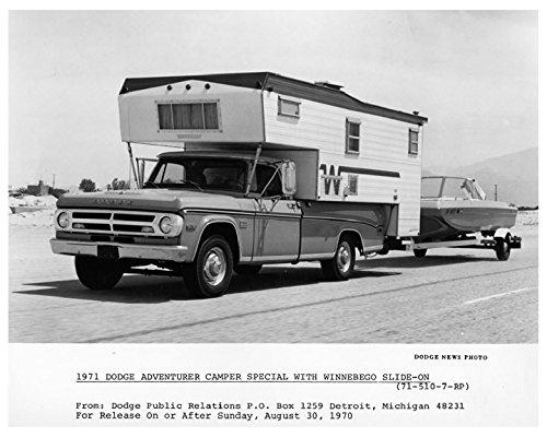 Amazon com: 1971 Dodge Adventurer Camper & Winnebago Factory