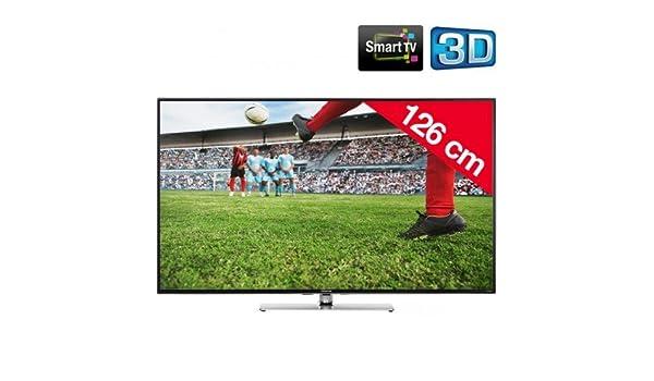 SHARP AQUOS LC-50LE761E - Televisor LED 3D Smart TV: Amazon.es ...