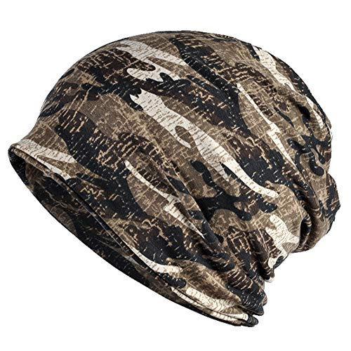 (CAMOLAND Winter Slouchy Beanie Hat Camouflage Fleece Lined Camo Outdoor Sports Baggy Unisex )