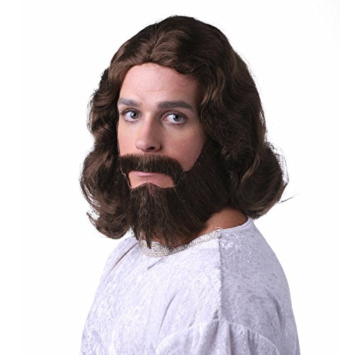 Characters Biblical Synthetic Wig and Beard - ()